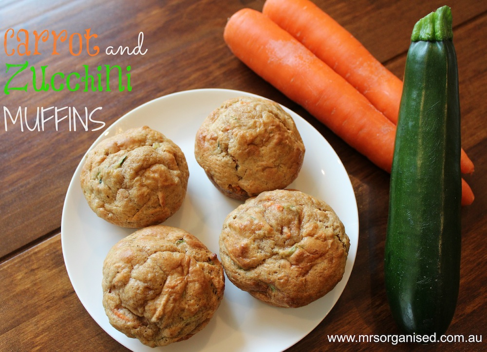 Carrot and Zucchini Muffins 001