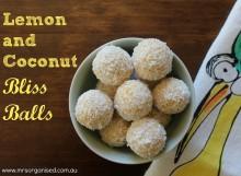 Lemon and Coconut Bliss Balls 001