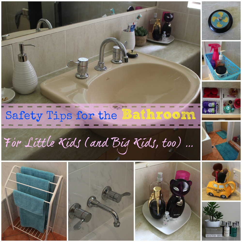 Safety Tips for the Bathroom 002