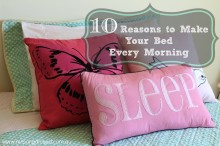 Ten to Make our Bed Every Morning 001
