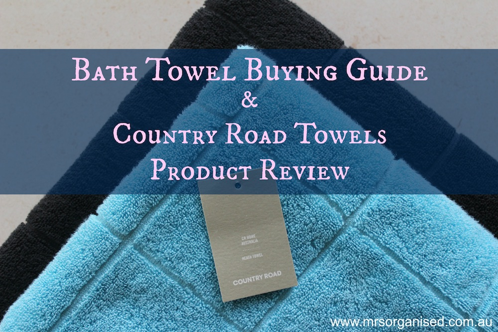 Bath Towel Buying Guide and Country Road Towels Product Review 001