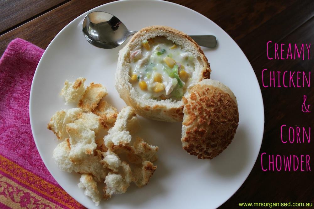 Creamy Chicken and Corn Chowder 001