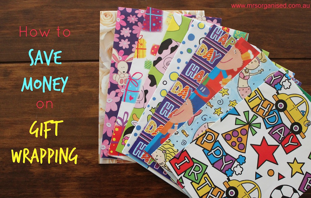How to Save Money on Gift Wrapping 001