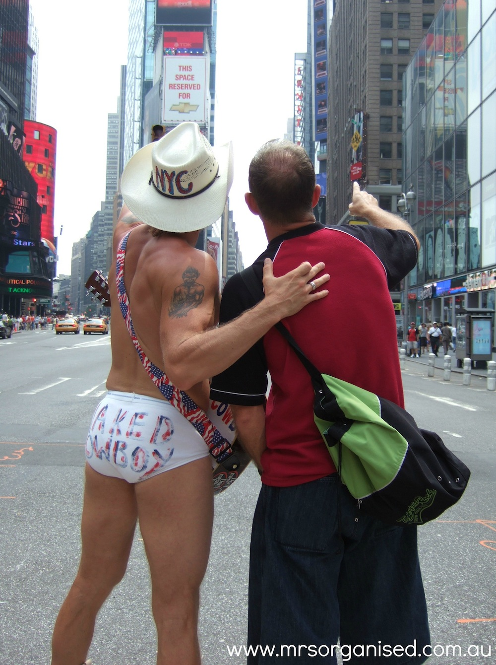 The Naked Cowboy 003