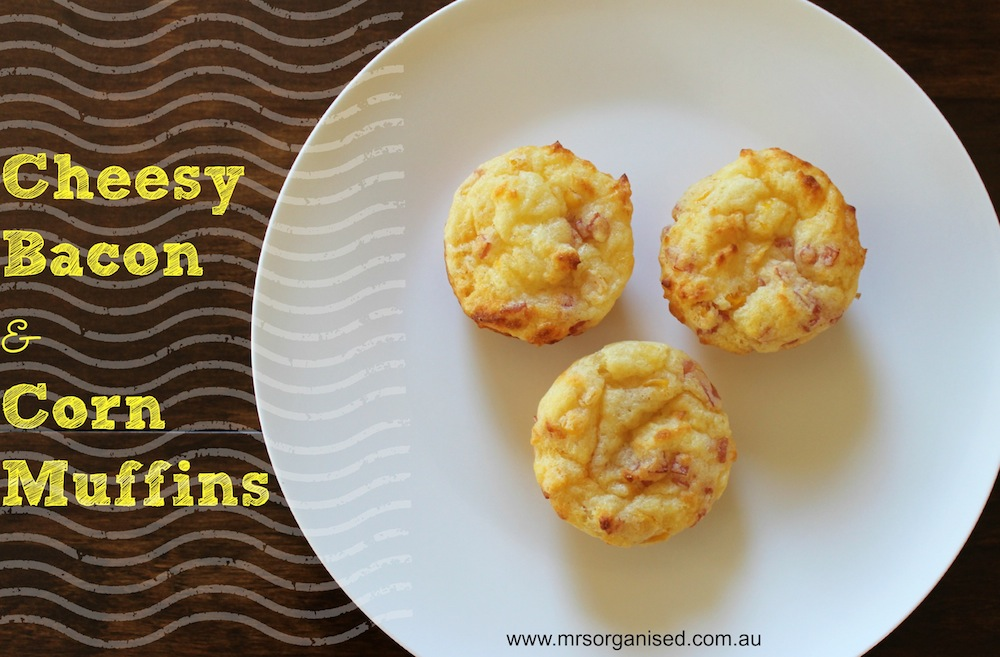 Cheesy Bacon and Corn Muffins 001