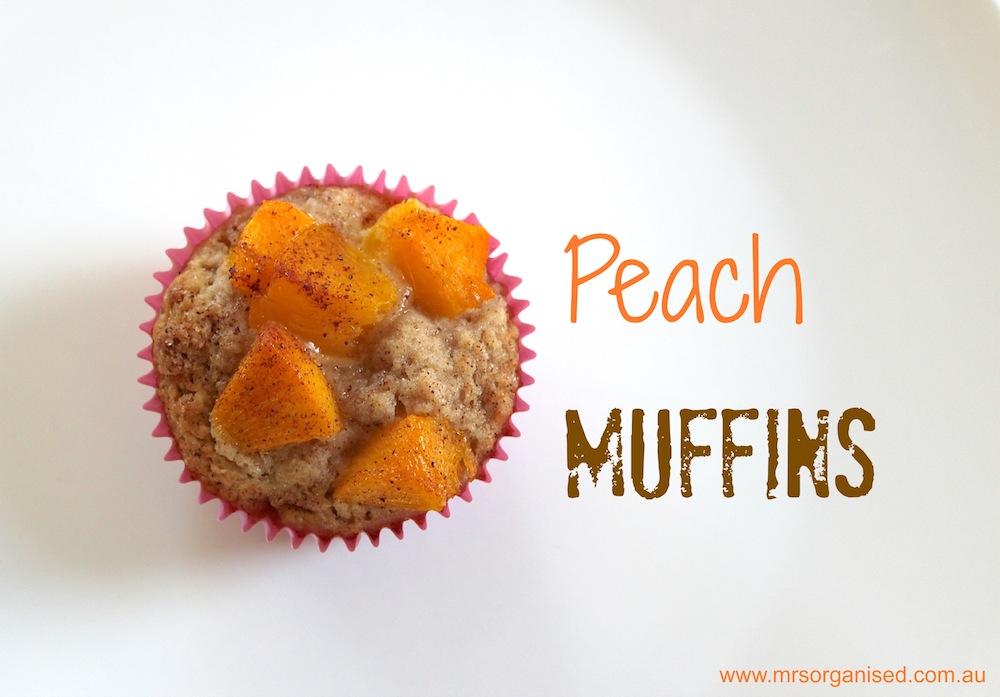 Peach Muffins 001