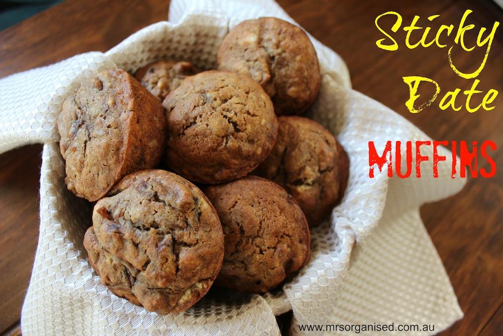 Sticky Date Muffins 001