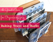 4 Great Ideas for Organising Baking Trays and Racks 001