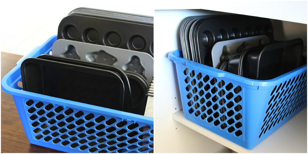 4 Great Ideas for Organising Baking Trays and Racks 004