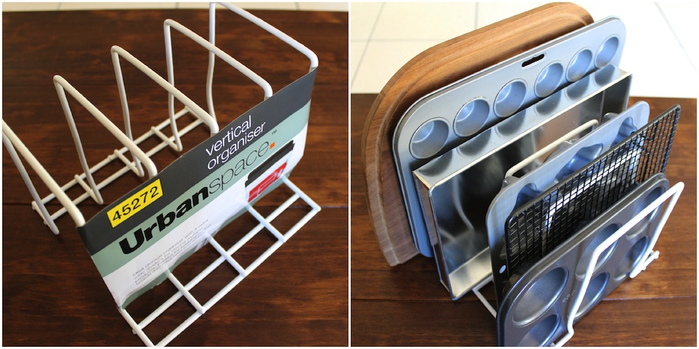 4 Great Ideas for Organising Baking Trays and Racks 005
