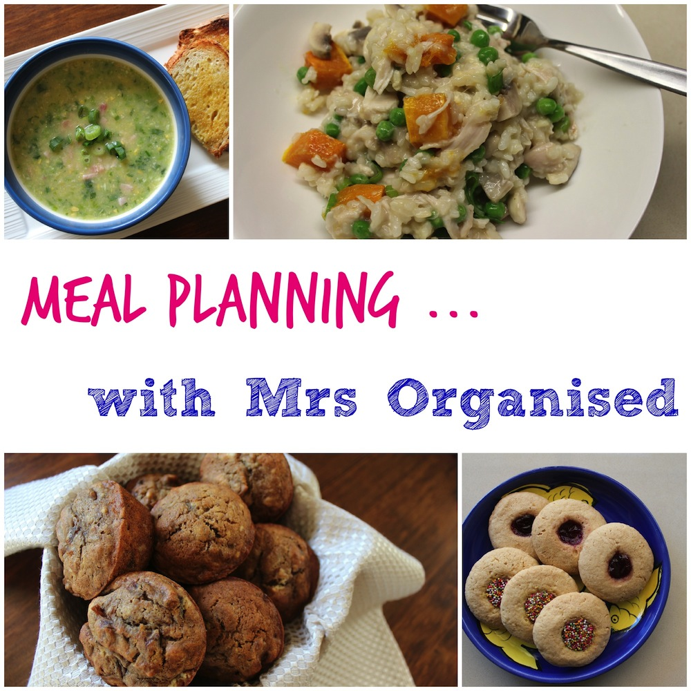 Meal Planning with Mrs Organised 001