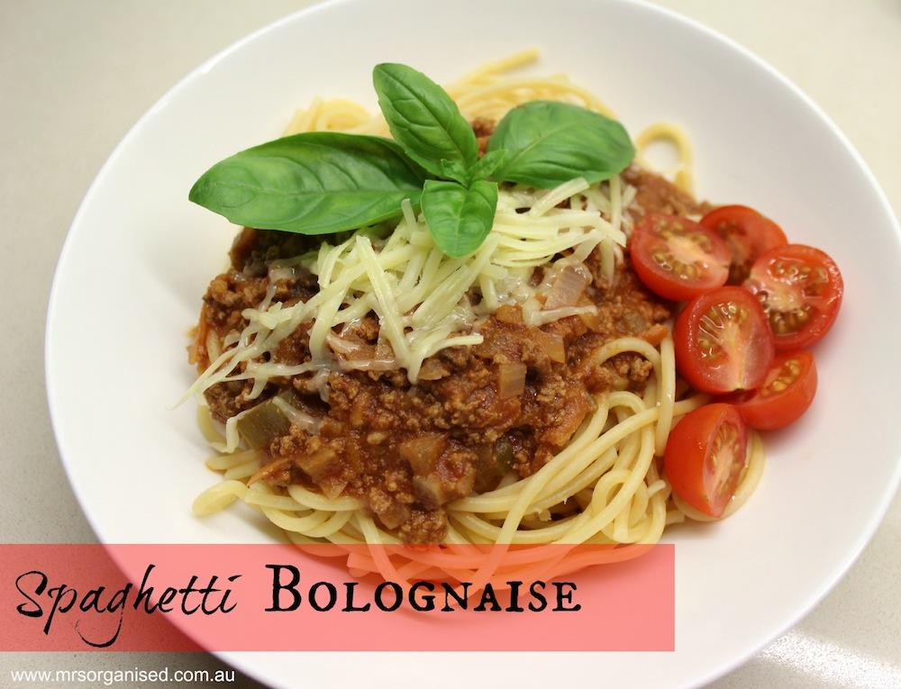 Spaghetti Bolognaise 001