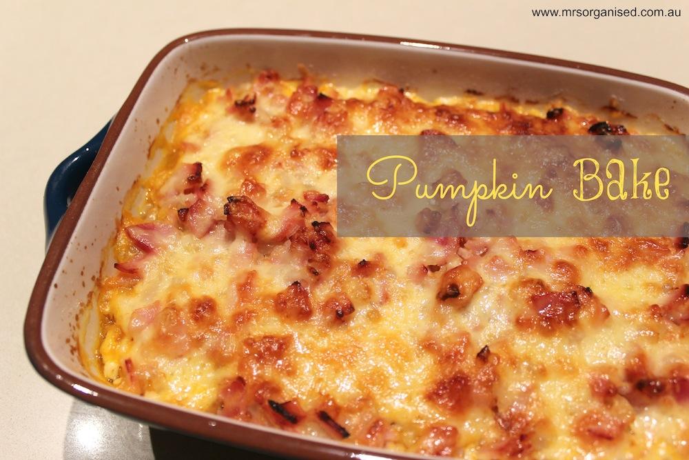Pumpkin Bake 001