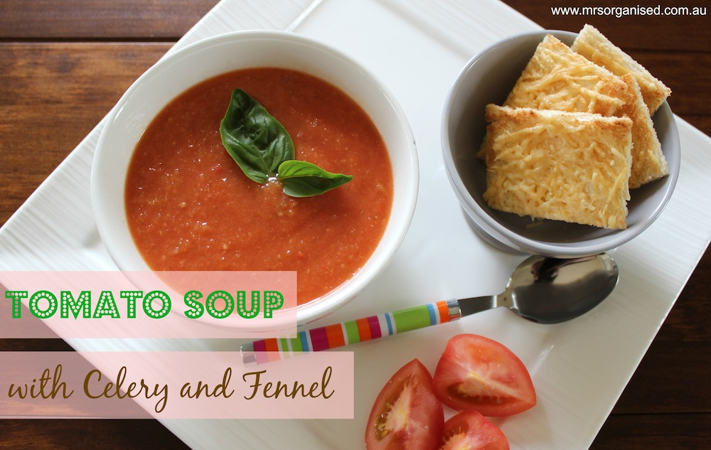 Tomato Soup with Celery and Fennel 001