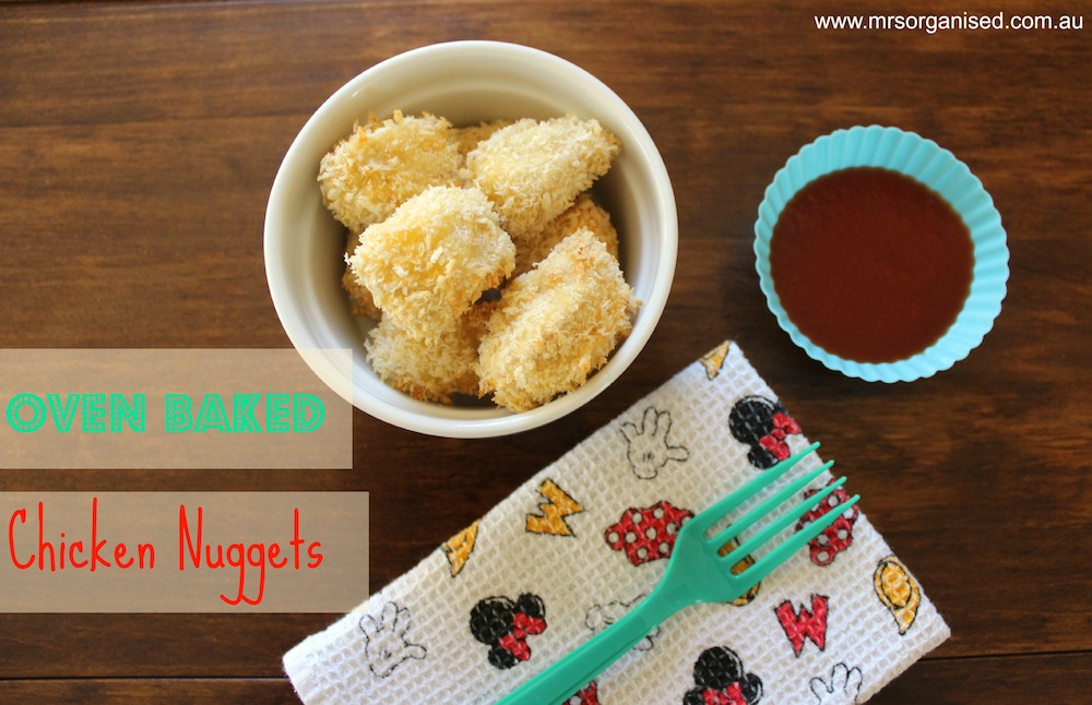 Chicken Nuggets … Oven Baked and Homemade 001
