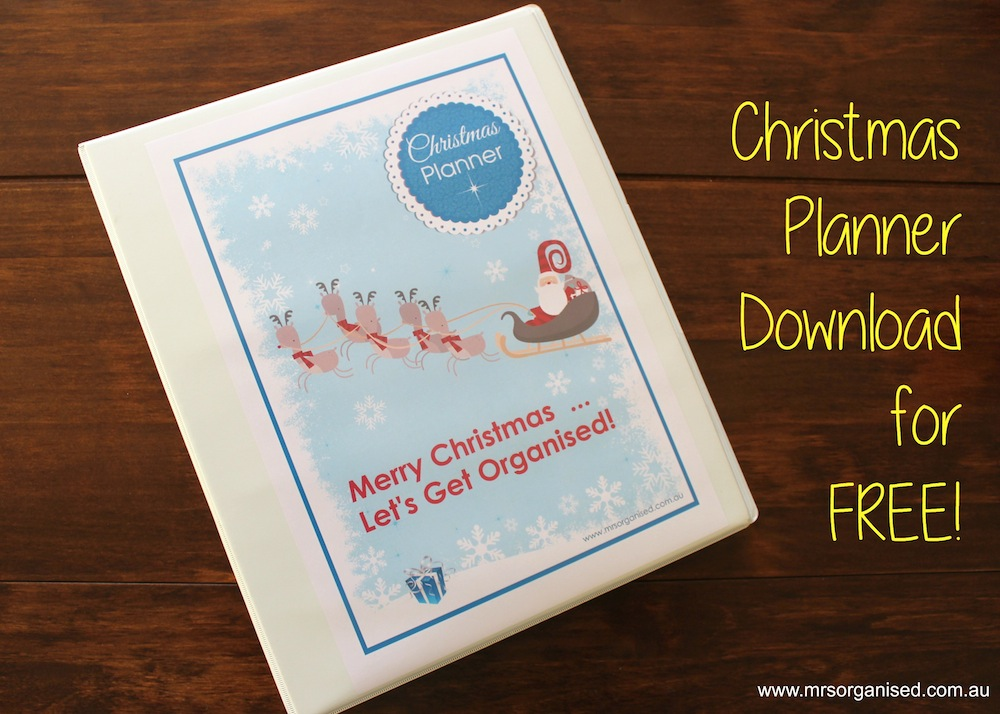 Christmas Planner 001