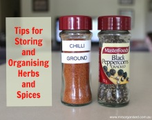 Tips for Storing and Organising Herbs and Spices 001