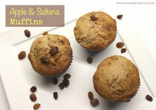 Apple & Sultana Muffins 001