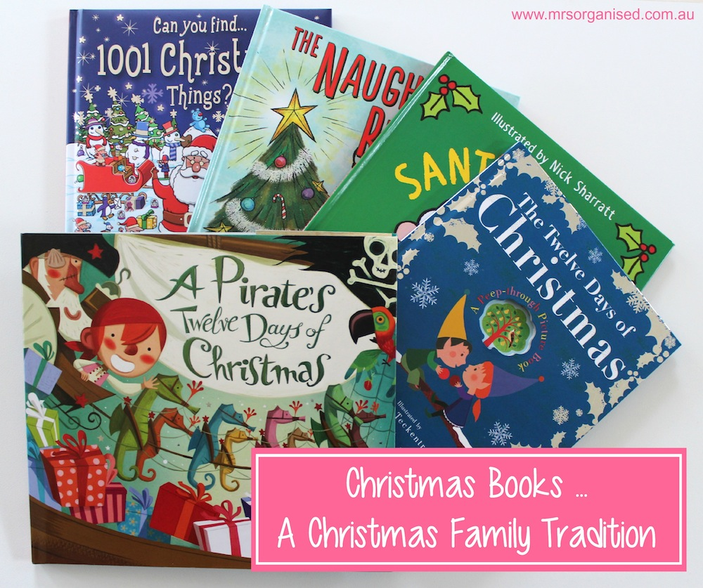 Christmas Books … A Christmas Family Tradition 001