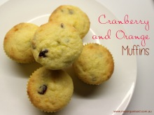 Cranberry and Orange Muffins 001