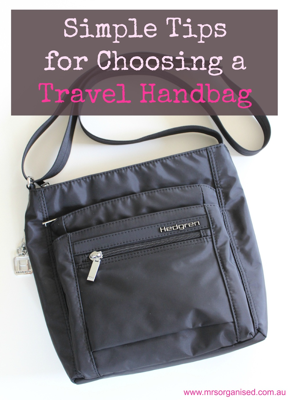 Simple Tips for Choosing a Travel Handbag 001