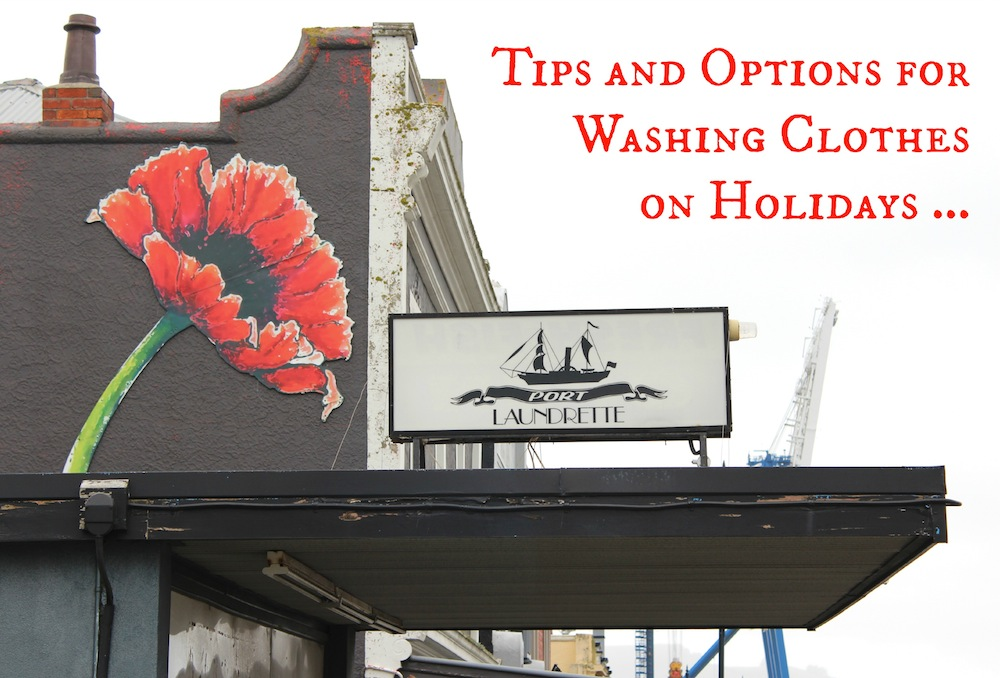 Tips and Options for Washing Clothes on Holidays 001