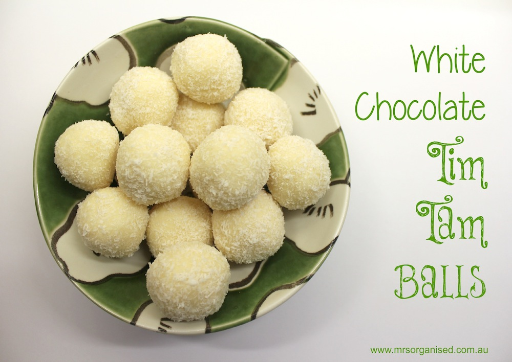 White Chocolate Tim Tam Balls 001
