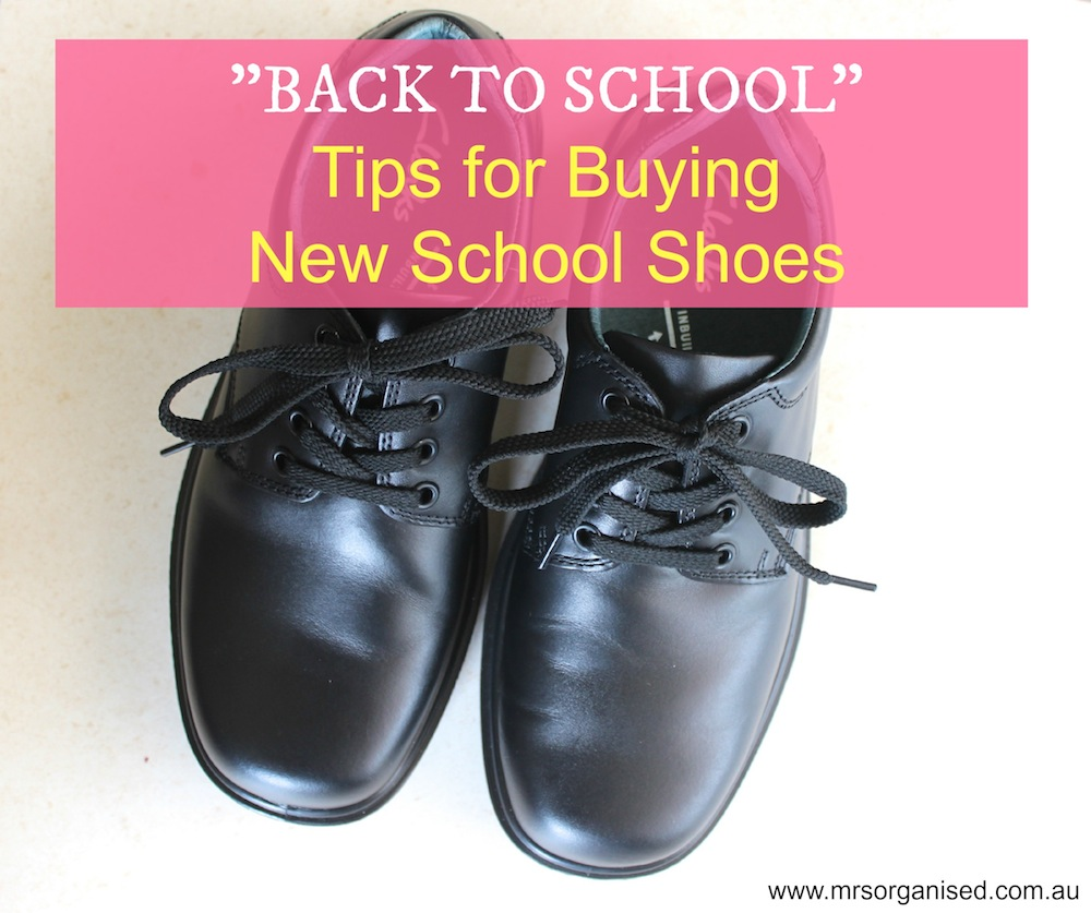 Back to School … Tips for Buying New School Shoes 001