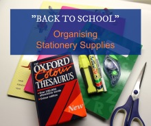 Back to School Organising Stationery Supplies 001