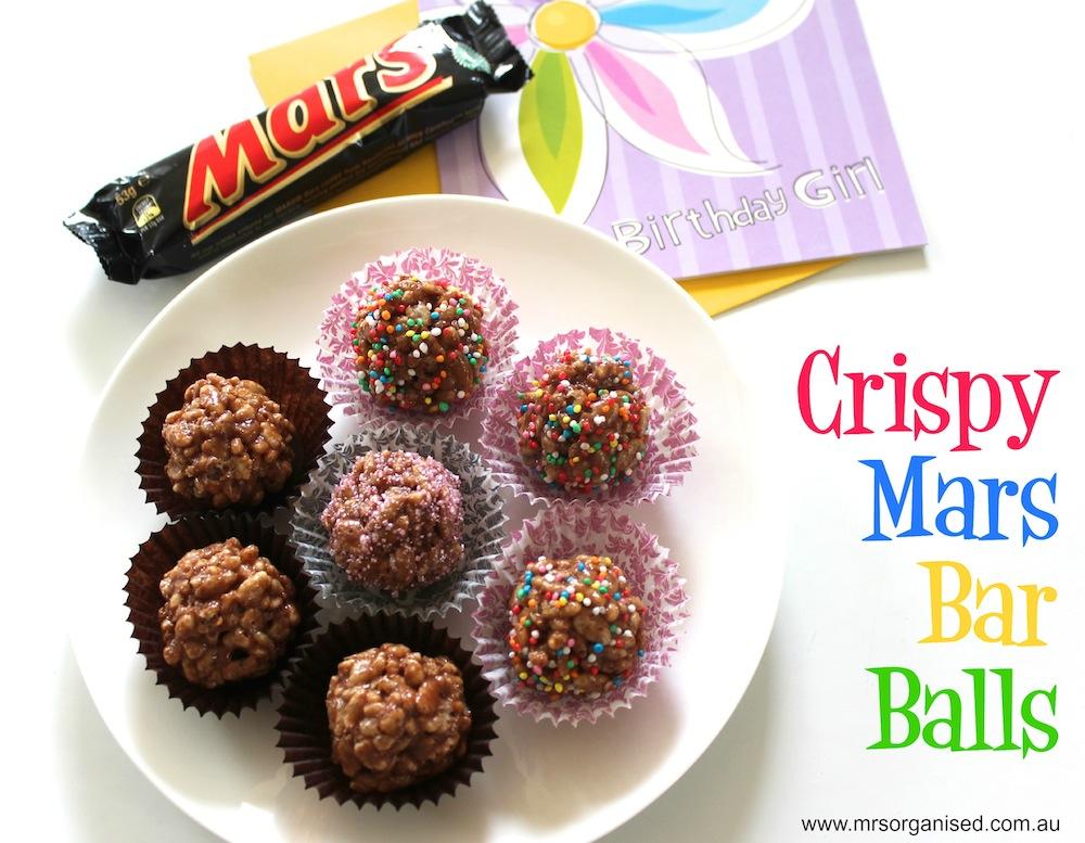 Crispy Mars Bar Balls