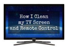 How I Clean my TV Screen and Remote Control 001