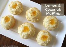 Lemon and Coconut Muffins 001