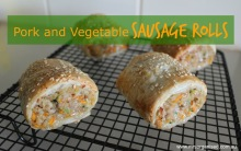Pork and Vegetable Sausage Rolls 001