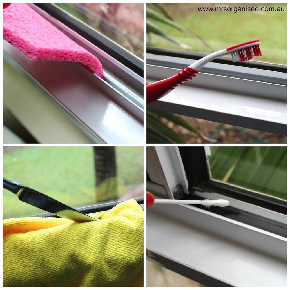Tips For Cleaning Windows: Simple Tips For Cleaning The Window Tracks
