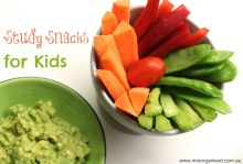 Study Snacks for Kids 001