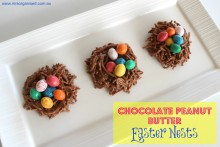 Chocolate Peanut Butter Easter Nests 001