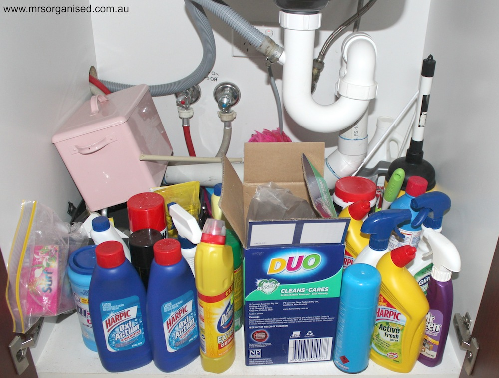 Laundry Cupboards … Decluttered, Cleaned and Organised in less than an Hour! 002