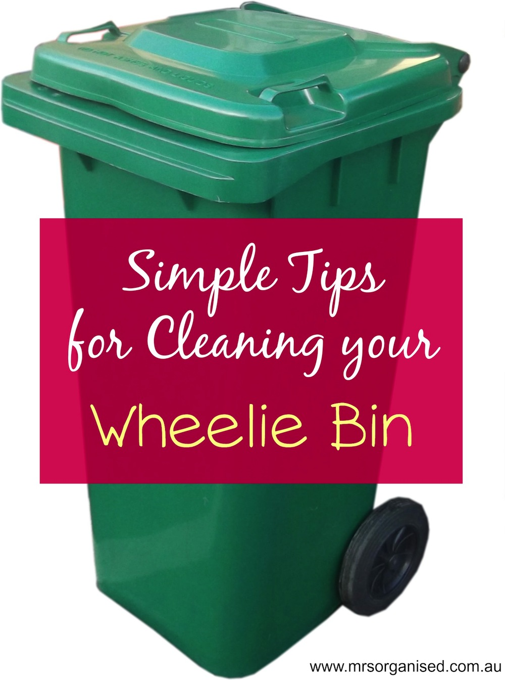 Simple Tips for Cleaning your Wheelie Bin 001