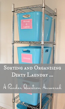 Sorting and Organising Dirty Laundry 001