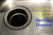 Tips for Cleaning the Garbage Disposal 001