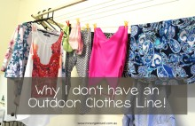 Why I Don't have an Outdoor Clothes Line! 001
