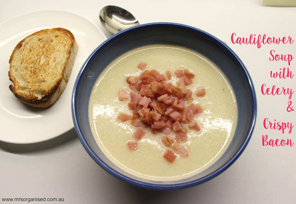 Cauliflower Soup with Celery and Crispy Bacon JPG