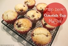 Top Deck Chocolate Chip Muffins