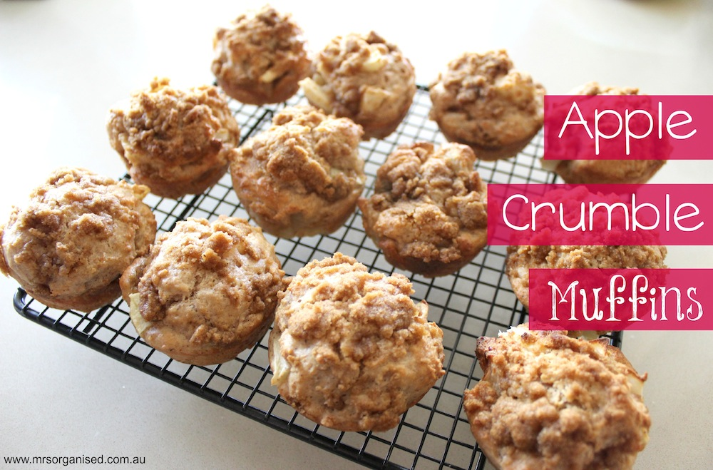 Apple Crumble Muffins 001