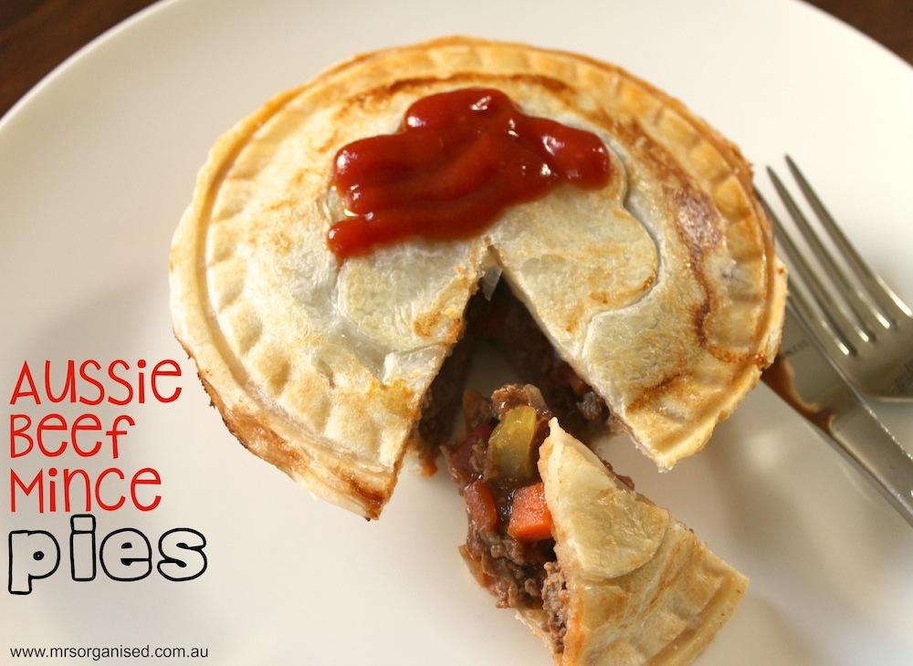 Aussie Beef Mince Pies