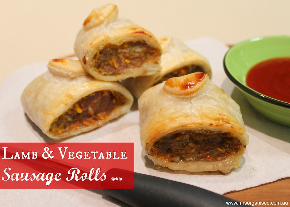 Lamb & Vegetable Sausage Rolls