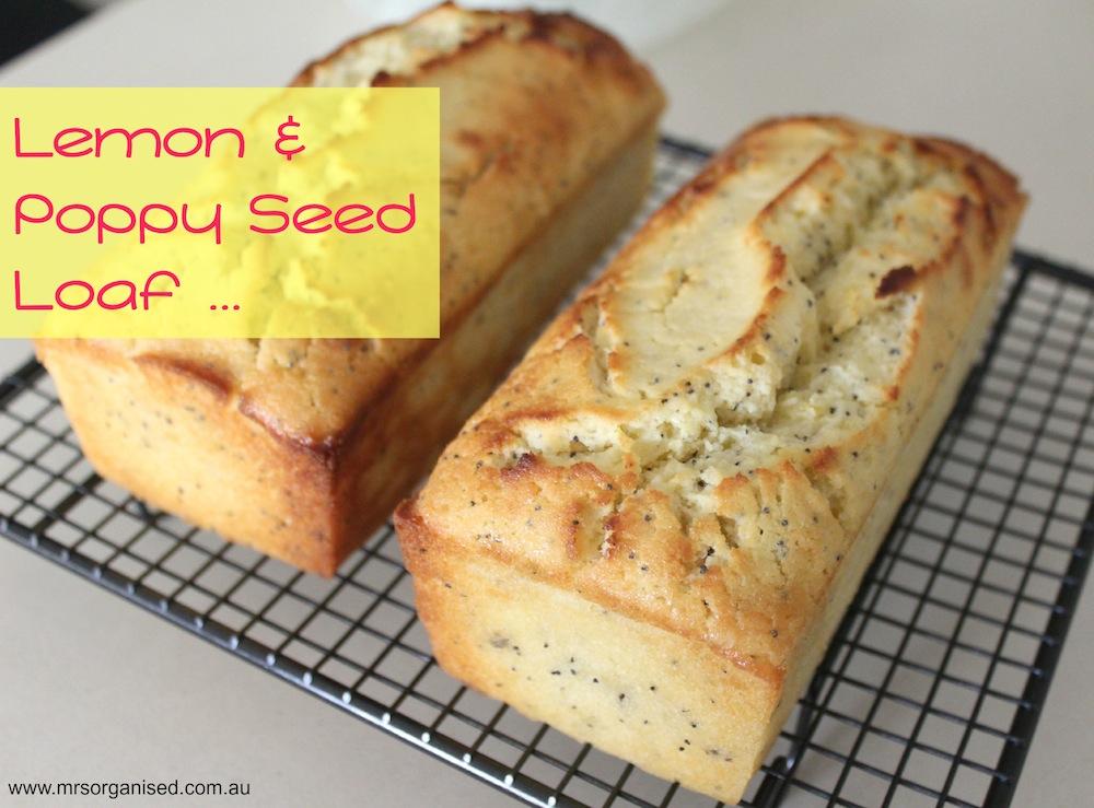 Lemon and Poppyseed Loaf 001