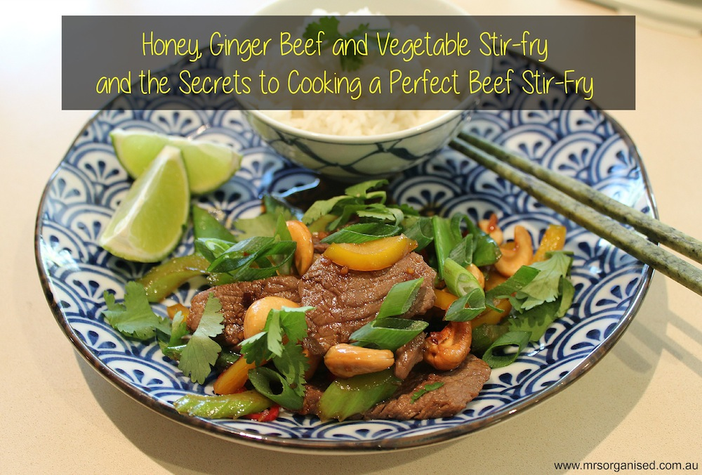 how to make a perfect vegetable stir fry
