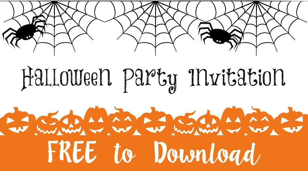 Halloween Party Invitation … Free to Download 001