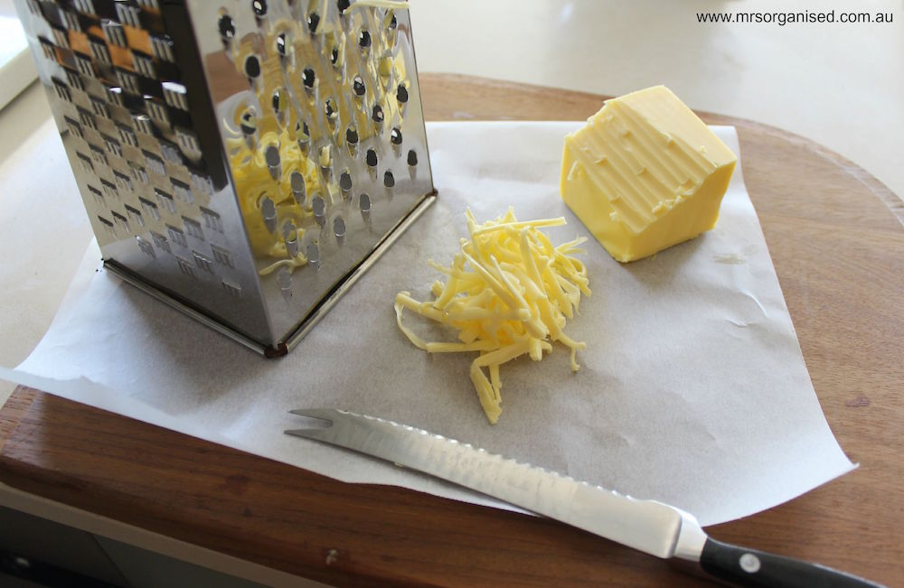 Kitchen Hints and Tips #1 ... How to Soften Butter in a Hurry 003